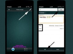 Simple Steps Schedule Whatsapp Messages On Android Tips News
