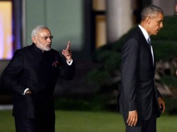 Narendra Modi Barack Obama Funny Pic Viral On Twitter