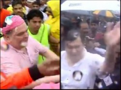 Video Rishi Kapoor Misbehaves With Fan