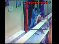 Video Goons Attack With Sword On Woman In Temple