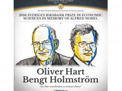 The Nobel Prize Economic Sciences 2016 Is Awarded Oliver