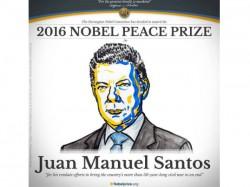 Colombian President Juan Manuel Santos Wins