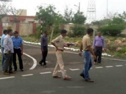 Explosion At Probandar Navel Base Gujarat