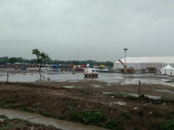 Gujarat Garba Organizers Occur Loss Of Millions Due To Heavy Rain