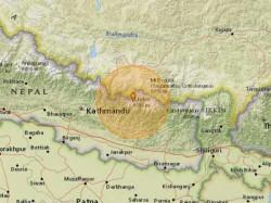 Earthquake Measuring 5 2 Strikes Panaoti Nepal