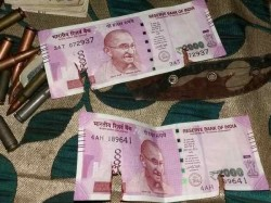 New Rs 2000 Notes Recovered From Terrorists Gunned Down Army