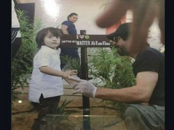 Recently Pic Abram Planting With Shahrukh Went Viral It See