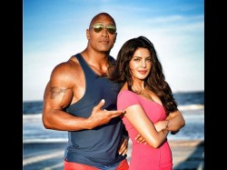 Dwayne S Comment On Priyanka S Little Appearance Baywatch Trailer