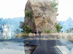 China Build Invisible Bridge After Glass Bridge