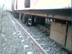 Coaches Kurla Ambarnath Local Train Derails Near Mumbai Mah