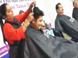 Surat Hairdresser Sets The Guinness Record Most Haircut In 24 Hours
