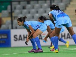 Forward Sangita Kumari Struck Twice As The Indian Junior Wom