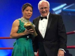 Famous Indian Boxer Mc Mary Kom Was Honoured With The First