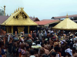 Persons Were Injured Following Stampede At The Sabarimala