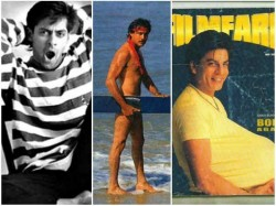 Weird Photoshoot Of Bollywood Stars Old Days Shahrukh Salman And Other Stars
