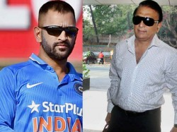 Sunil Gavaskar Is Glad That Mahendra Singh Dhoni Has Only Qu