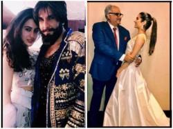 Sara Ali Khan Jhanvi Kapoor Khushi Kapoor Spotted At A Wedding In Traditional Avatar