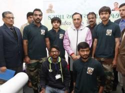 Vijay Rupani Visited Wildlife Care Center Ahmedabad