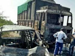 Morabi Highway Car Truck Bike Crash 3 Dead