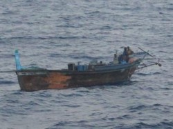 One More Pakistani Fishing Boat Seized In Three Days By Bsf In Gujarat