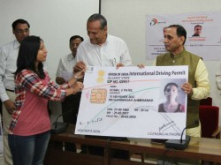 The International Driving Permit Idp Issued Cm Vijay Rupani