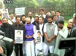 Rahul Ganhdi Joins Protest Over E Ahamed S Death
