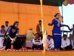 Vulgar Dance Bjp Rally During Presence Mp Sanjeev Baliyan Mathura