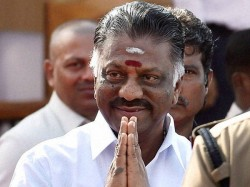 O Paneerselvam Writes Bank Not Allow Any Transactions Party Account Without His Consent