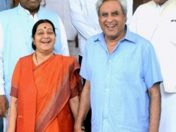 Governor Swaraj Twitter Responses To Questions About Wife Sushma Swaraj