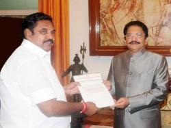 Edappadi K Palaniswami Be Tamil Nadu Cm