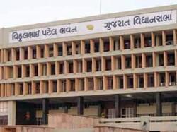 Gujarat Assembly Speaker Suspended Congress Leader One Day