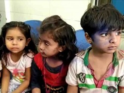 Patan Bee Attack On School Children 50 Kids Stings By Bee