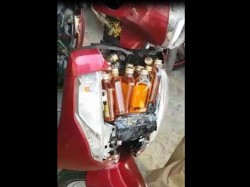 Video See Here The New Technique Bring Illegal Liquor Gujart