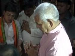 Front Runner Up Cm S Post Manoj Sinha Offers Prayers At Kashi Vishvanath Temple Varanasi