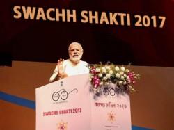 Narendra Modi Address National Convention 6000 Women Sarpanch