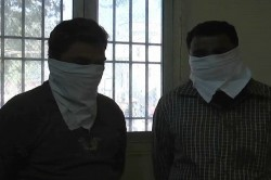 When Two Police Constable Arrested Having Liquor On Duty