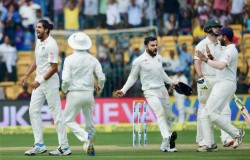 India Vs Australia Bengaluru Test Day