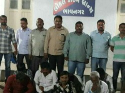 Bhavnagar Police Arrested 9 Person Gambling