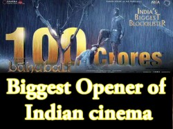 Baahubali 2 Box Office Report Opening Day Collection 100 Crore