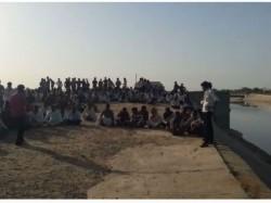 Banaskantha Farmers Protest