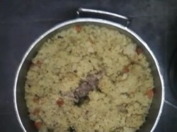 Governemnt School Got Dead Mole On Midday Meals