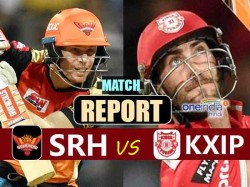 Ipl 2017 Kings Xi Punjab Vs Sunrisers Hyderabad Live Match R