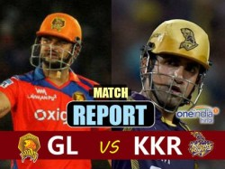 Ipl 2017 Match Report 3 Gujarat Lions Vs Kkr At Rajkot Stadium