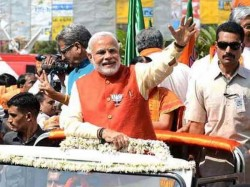 Pm Narendra Modi Surat Road Show Live Update
