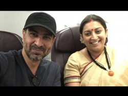 Mihir Tulsi Reunion Ronit Roy Met Smriti Irani In The Flight