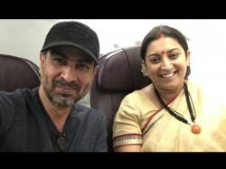 Mihir Tulsi Reunion Ronit Roy Met Smriti Irani In The Flight