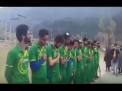 Kashmiri Cricketers Detained Allegedly Wearing Pak Teams Jersey