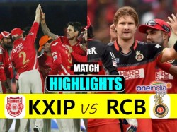 Ipl 2017 Match 8 Highlights Royal Challengers Bangalore Vs Kings Eleven Punja