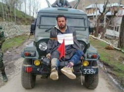 Kashmir Man Tied With Army Jeep Is Tailor