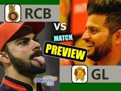 Preview Ipl 2017 Match 20 Gujarat Lions Vs Royal Challengers Bangalore